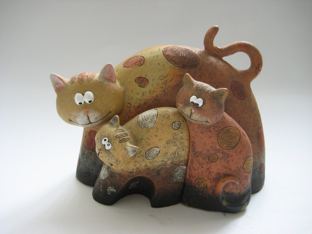 lovely cat statues
