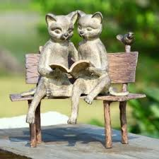 cute cat statues gifts